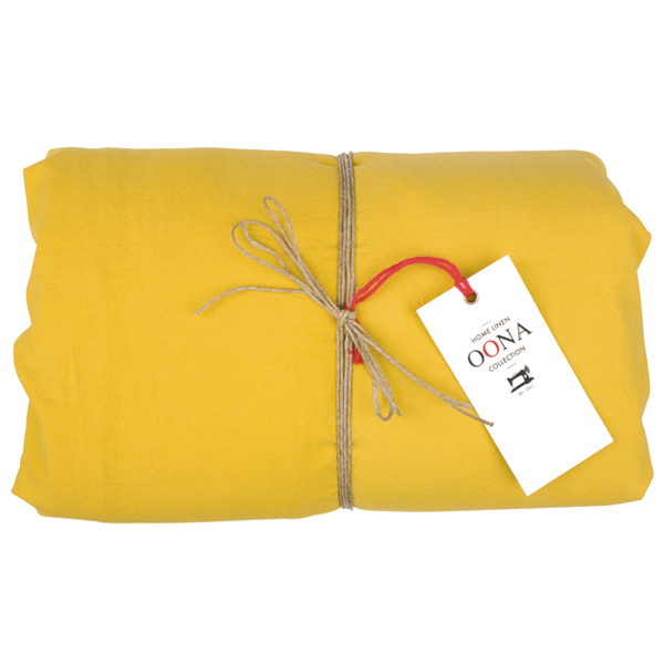 drap housse 100% coton honey OONA Home