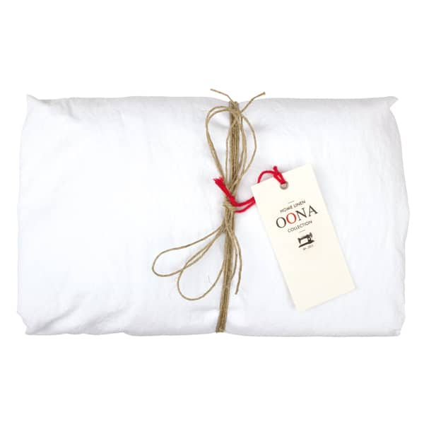 drap housse white 100% coton OONA Home