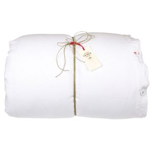 housse de couette white 100% lin OONA Home