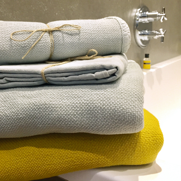 serviette de bain coton honey OONA Home