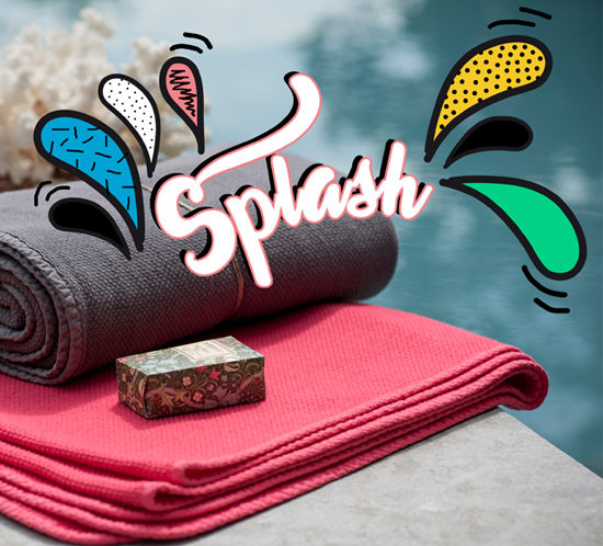 splash serviettes de plage OONA Home