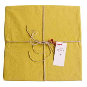 drap plat coton honey OONA Home
