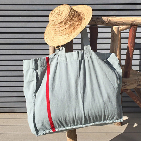 beach bag seafoam OONA Home