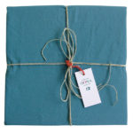 drap plat tealblue OONA Home