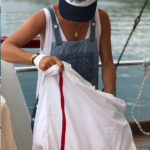beach bag White OONA Home