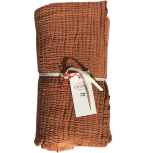 plaid ete gaze de coton caramel OONA Home