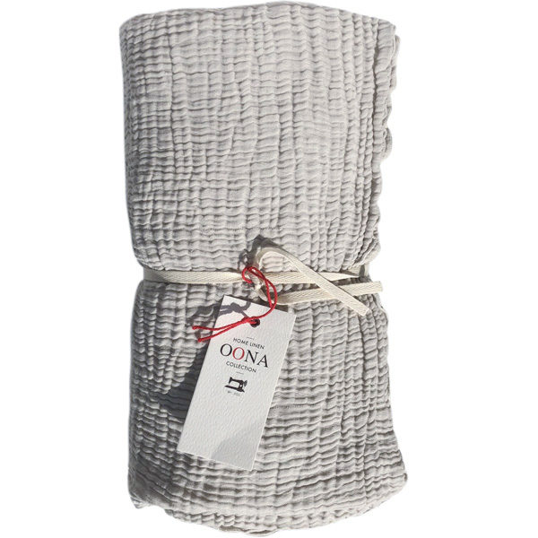 plaid ete gaze de coton cloud OONA Home