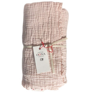 plaid ete gaze de coton nude OONA Home