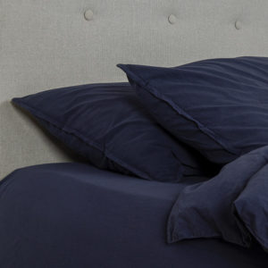 drap housse darkblue oona home