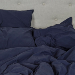 housse couette darkblue oona home