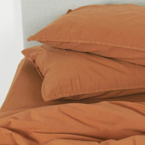 Housse Couette caramel OONA Home